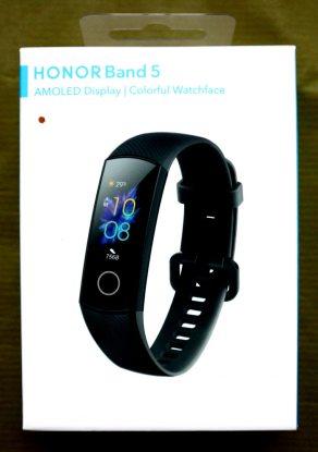 Комплект поставки Honor Band 5