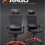 COUGAR Argo – инновационное игровое кресло с совершенной эргономикой