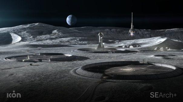 3D-печать для строительства на Луне