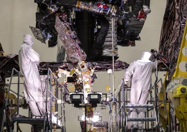 Башня телескопа Уэбба