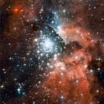 Туманность NGC 3603 является инкубатором для молодых звезд в нашей галактике