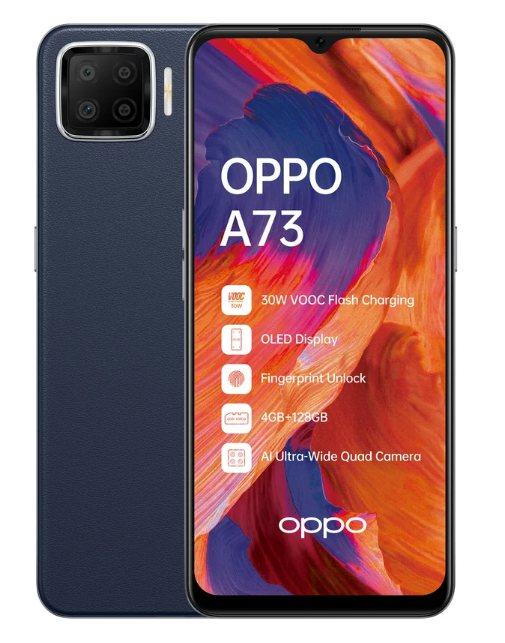 OPPO A73 с AI-квадрокамерой
