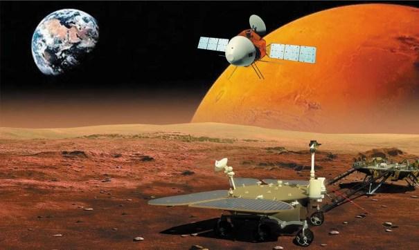 китайская миссия и марсоход Тяньвэнь-1