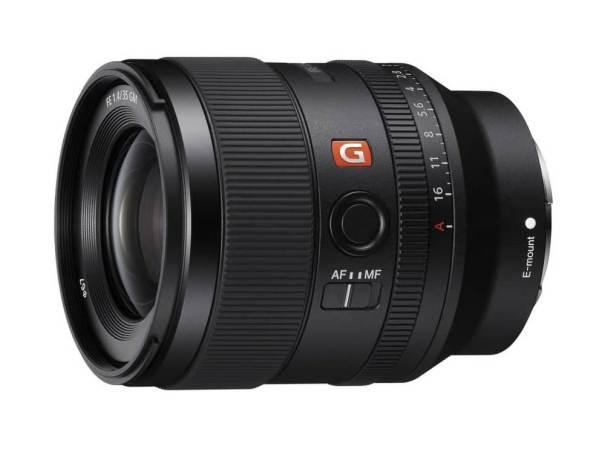 Sony выпускает полнокадровый объектив G Master FE 35 мм F1.4