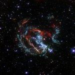 Хаббл обнаружил вспышку сверхновой в галактике-спутнике Млечного Пути