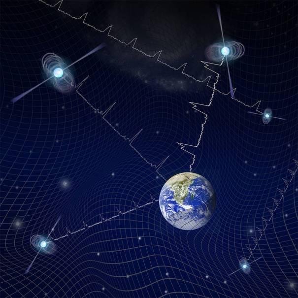 Пульсары и гравитационные волны