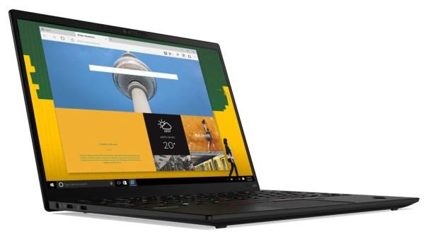 Lenovo представила в Украине ThinkPad X1 Nano и другие ноутбуки