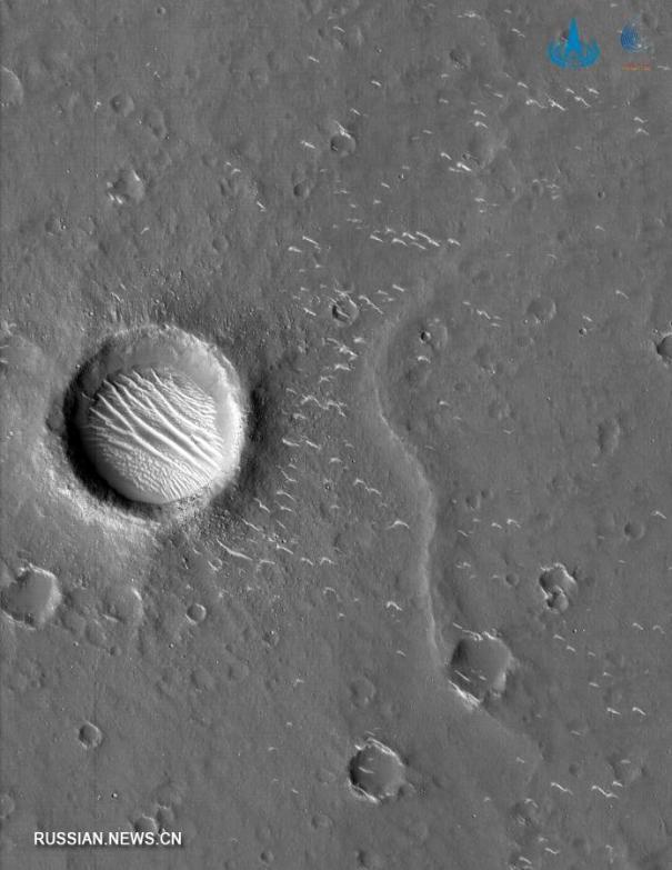 кратеры Марса