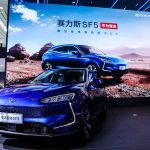 Huawei представил электрический внедорожник Seres SF5