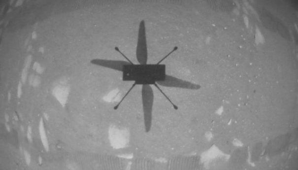 Ingenuity совершил первый управляемый полет на Марсе