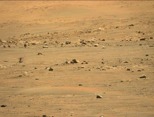 Вертолет НАСА Ingenuity Mars