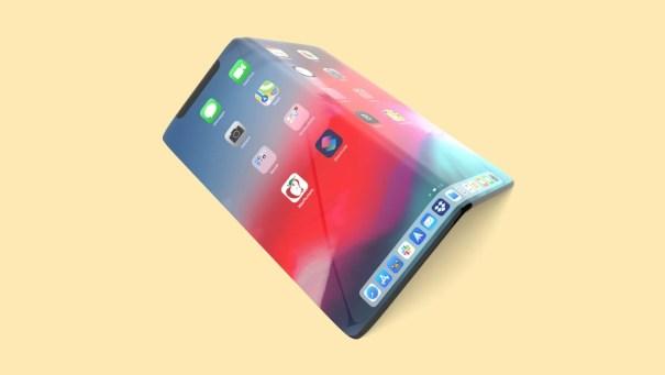 8-дюймовый складной iPhone - концепт