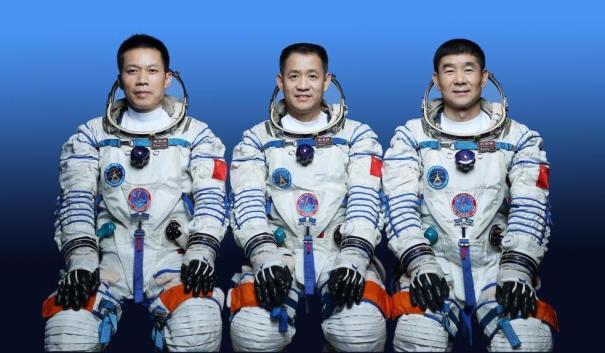 астронавты КНР