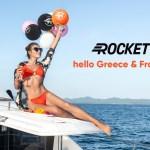 Rocket запустился в Греции и Франции