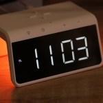 GELIUS Pro Smart Desktop Clock Time Bridge GP-SDC01 – беспроводная зарядка, разноцветный ночник и настольные часы
