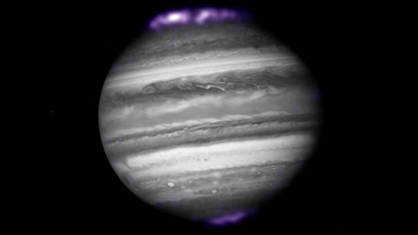 рентгеновское излучение полярных сияний Юпитера