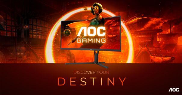 AOC GAMING G3 Series – новый уровень иммерсивности: кривизна 1000R, 165Гц, 1мс