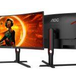 AOC Gaming G3 получили кривизну 1000R и частоту 165 Гц