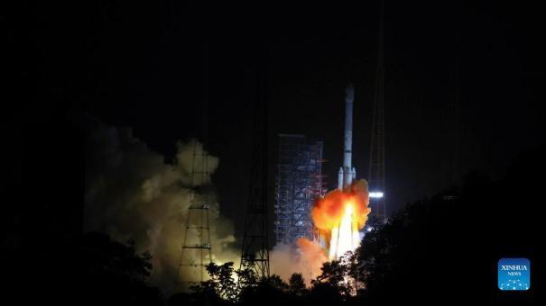 Китай запустил спутник прямого вещания Zhongxing-9B