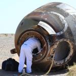 Тайконавты вернулись на Землю со стройки космической станции