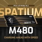 MSI SPATIUM – линейка твердотельных накопителей M.2 2280