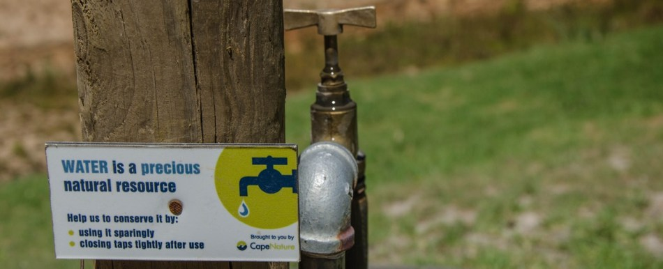 close tap to save water