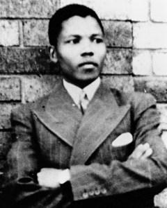 Nelson Mandela în tinerețe