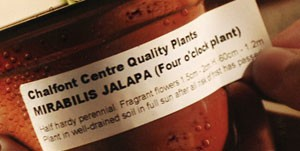 Waterproof Horticultural labels