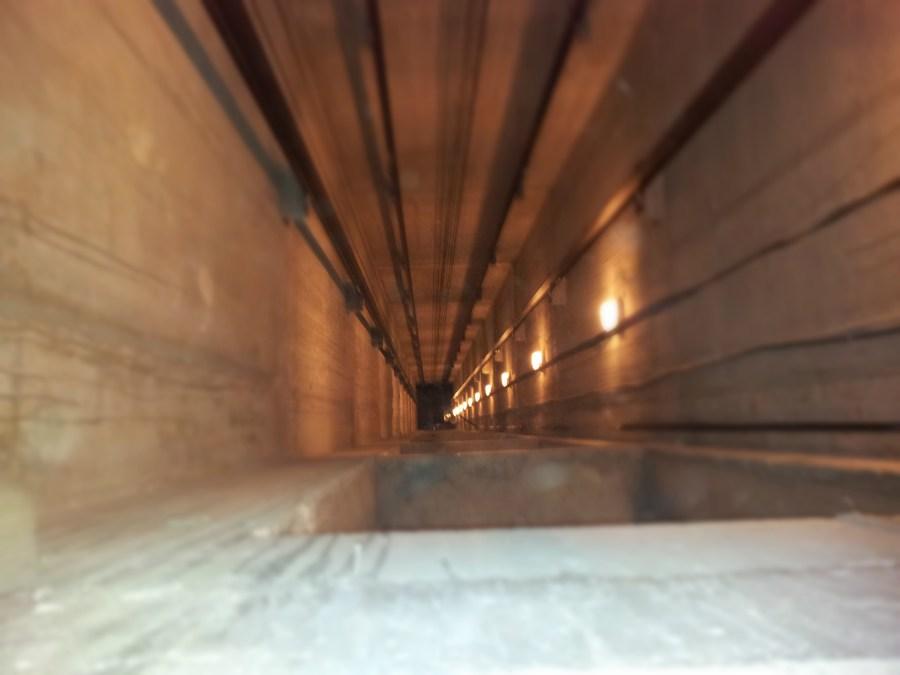 шахотово осветление на асансьор 2