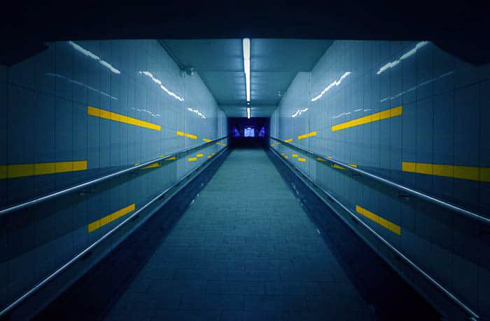 Aa atmospheric shot of an underground tunnel - digital photography for beginners