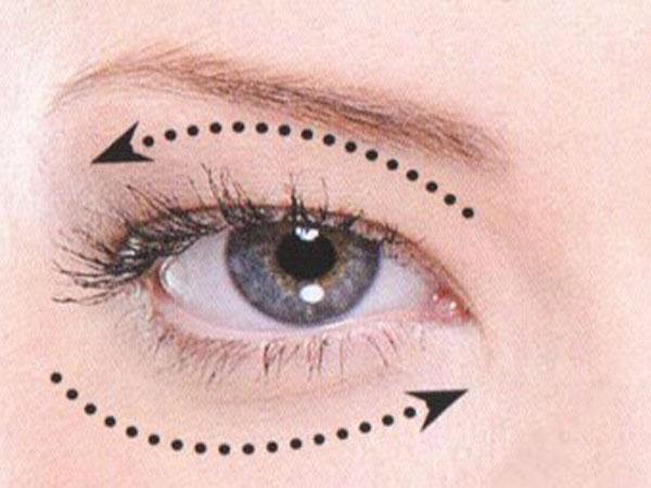 Masaj ocular pentru restabilirea vederii