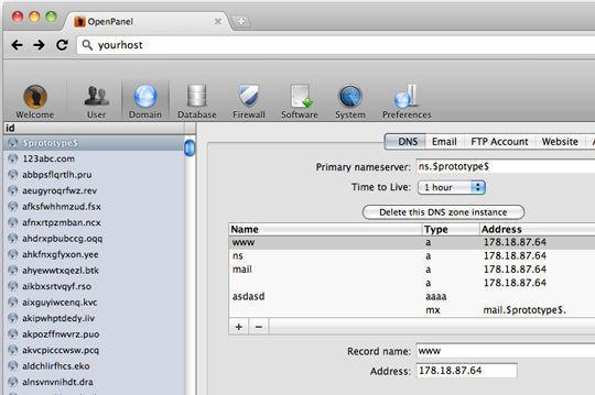 OpenPanel - Free Hosting Control Panel