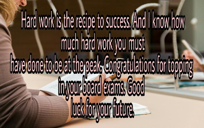 Congratulation Messages For Topping In An Exam Samplemessages Blog