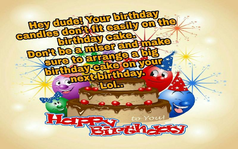 Funny Birthday Wishes For Friend Samplemessages Blog