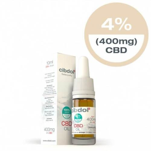 Cibdol - CBD Oil - 4% - 10ml