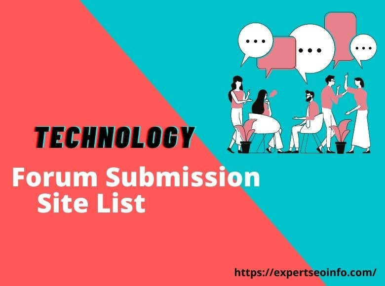 Technology Forum Submission Site List