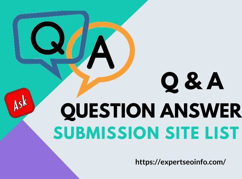 question answer submission site list