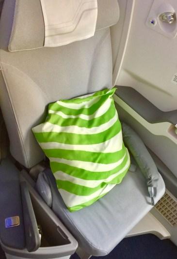 Finnair seat
