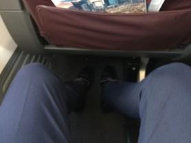 bus Class leg room
