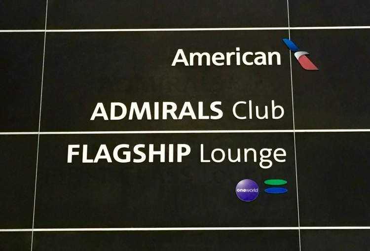 AA-Flagship-Lounge-signage-round-world-trip