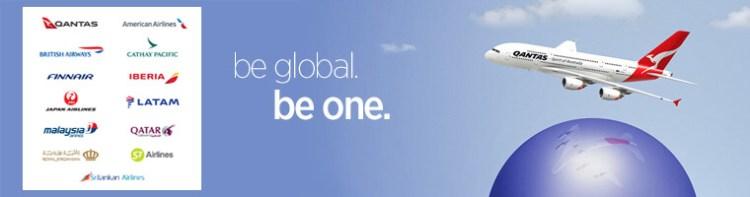 Oneworld global banner