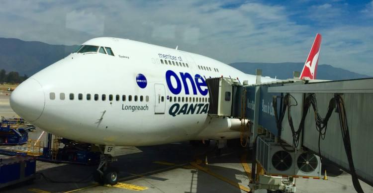 Qantas-747-Sydney-Santiago-round-world-trip