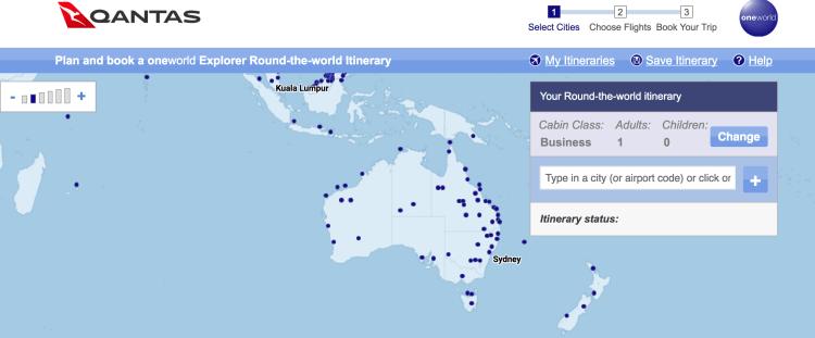 Qantas RTW Planning tol
