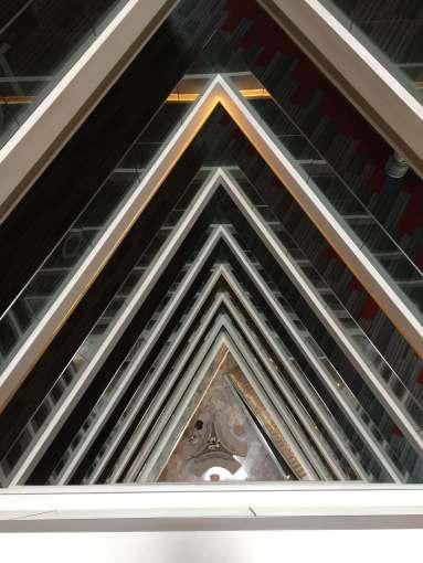 Santiago Hotel atrium