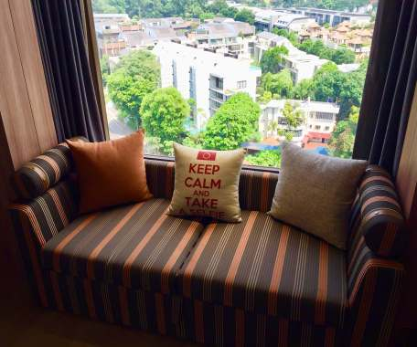 sofa with a view