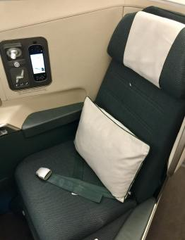 Cathay-Pacific-Business-Class-window-seat-round-world-trip