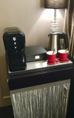 Juliana-Hotel-Paris-coffee-machine-fridge-round-world-trip