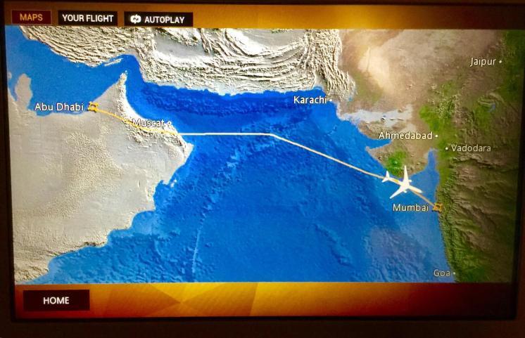 Etihad-business-class-flight-map