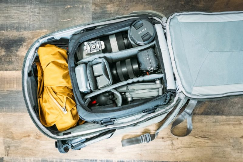 Inside My Camera Backpack