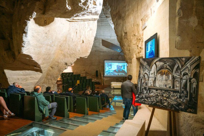 Inside Casa Cava